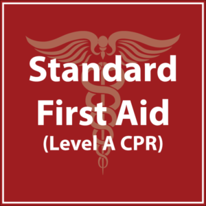 Standard First Aid Level A CPR