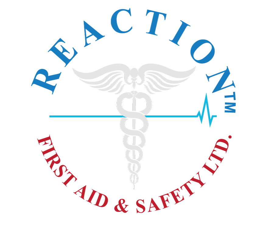 Reaction First Aid & Safety Logo