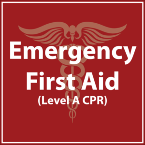 Emergency First Aid Level A CPR