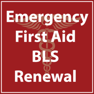 Emergency First AId BLS Renewal course