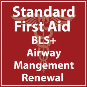 Standard First Aid Airway Management Renewal
